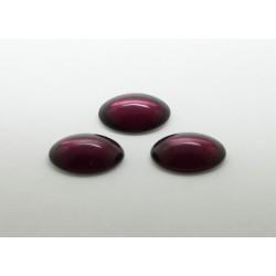 50 ovale amethyste 14x10