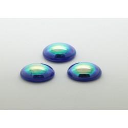 50 ovale bleu A/B 14x10