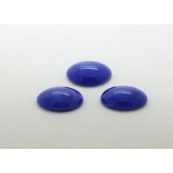 10 ovale bleu pierre 25x18