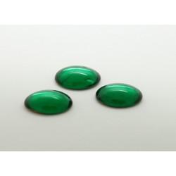 50 ovale emeraude 14x10