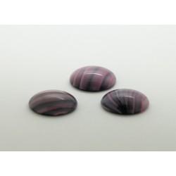 50 ovale rose gris soie 14x10