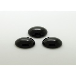 100 ovale noir 10x08