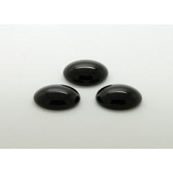 10 ovale noir 25x18