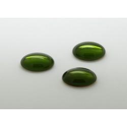 100 ovale olivine 10x08