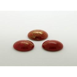 50 ovale rouge irise 12x10