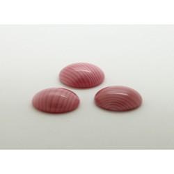 100 ovale rose soie 08x04