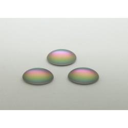 25 ovale vitrail clair mat 12x10