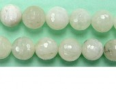 Perle Facettes Pierre de Lune 06mm - Fil de 40 Centimetres