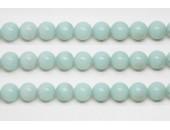 Perles en pierres amazonite 4mm - Fil de 40 Centimetres