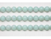 Perles en pierres amazonite 8mm - Fil de 40 Centimetres