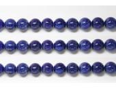 Perles en pierres lapis lazuli HQ 10mm - Fil de 40 Centimetres