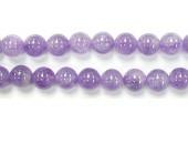 Perle Amethyste Bresilienne 10mm - Fil de 40 Centimetres