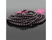 Perles en pierres Grenat 4mm - Fil de 40 Centimetres