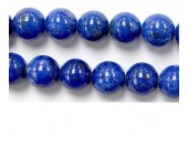 Perles en pierres lapis lazuli 2mm