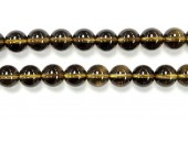 Perle pierre Quartz fumé 3mm
