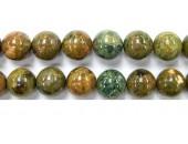 Perle Ryolite 10mm - Fil de 40 Centimetres