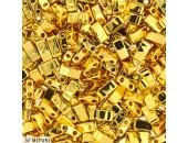10 Grs Half TILA Doré Opaque Brillant Metalisé