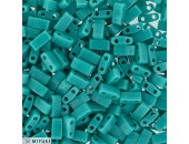 25 Grs Half TILA Vert Turquoise Opaque Brillant