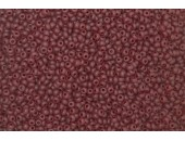 250 grs rocaille rubis mat 5/0