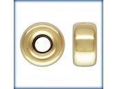 10 Rondelles 4.0mm Trou 1.2mm 1/20 14K Gold Filled