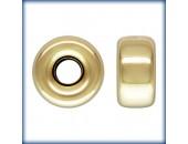 10 Rondelles 5.0mm Trou 1.4mm 1/20 14K Gold Filled