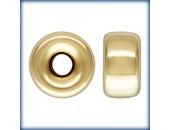5 Rondelles 6.0mm Trou 1.5mm 1/20 14K Gold Filled