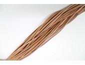 25 Mts lacet cuir naturel 3mm