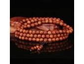 108 Perles Bois Exotique ''Barbie Sandalwood'' 8mm
