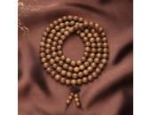 108 Perles Bois Exotique ''Wenge Wood'' 10mm