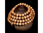 108 Perles Bois Exotique ''Thuja Sutchuenensis Wood'' 6mm