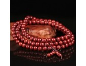 108 Perles Bois Exotique ''Purple Sandalwood'' 8mm