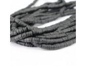 Rondelles ''Heishi'' Noir 4mm