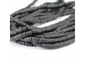 Rondelles ''Heishi'' Noir 6mm