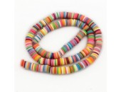 Rondelles ''Heishi'' Multicolor 2 6mm