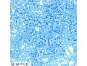 25 Grs MIYUKI Quart TILA Bleu Turquoise A/B Opaque Mat