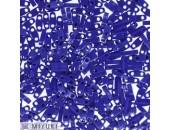 25 Grs MIYUKI Quart TILA Bleu Cobalt Opaque Brillant
