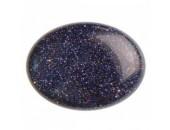 10 GoldStone Bleue 13x18mm
