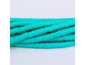 Rondelles ''Heishi'' Turquoise 6mm