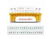 33 Poincons Celtic Majuscules 3.0mm Acier ''ImpressArt''