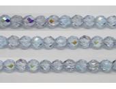 30 perles verre facettes alexandrite A/B 10mm