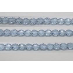 30 perles verre facettes alexandrite 12mm