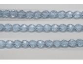 30 perles verre facettes alexandrite 14mm