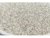 50 grs MIYUKI Delica Beads 11/0 (2mm) argent