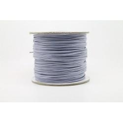 100 metres lacet coton cire 1mm parme