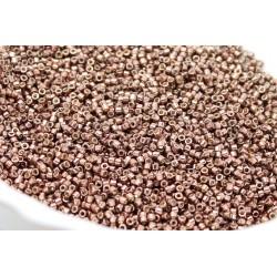 25 grs MIYUKI Delica Beads 11/0 (2mm) Duracoat Galvanized 1834