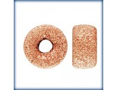 5 Rondelles 6.0mm Stardust Trou 1.5mm 1/20 14K Rose Gold Filled