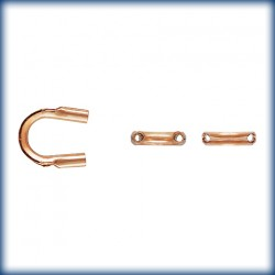 25 Passes Cables Trou 0.53mm 1/20 14K Rose Gold Filled