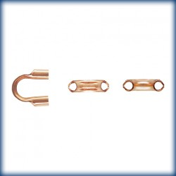 25 Passes Cables Trou 0.78mm 1/20 14K Rose Gold Filled