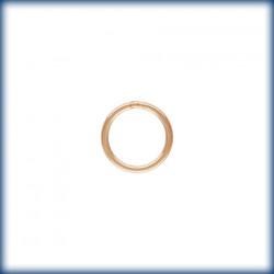 20 Anneaux fermes 6.0mm Fil 0.64mm 1/20 14K Rose Gold Filled