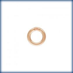 20 Anneaux fermes 4.0mm Fil 0.76mm 1/20 14K Rose Gold Filled